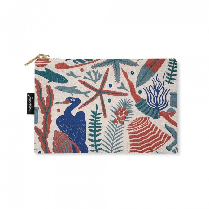 Flat purse Udako Ocean basque - Jean-Vier