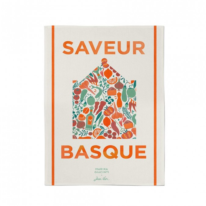 hand towel Udako saveur basque - Jean-Vier