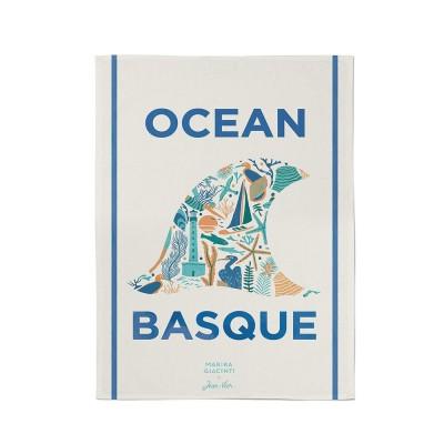 toalha do mãos Udako Ocean basque - Jean-Vier