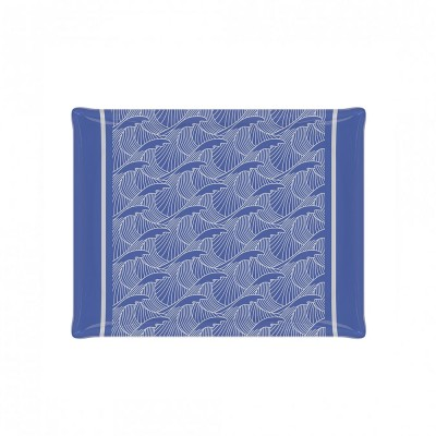 Bandeja Bilbatu vagues bleu