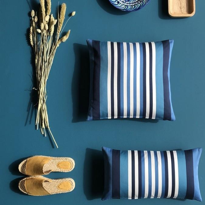 Cushion cover Ainhoa Atlantic 100% cotton