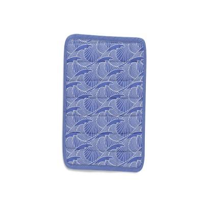 Manique Bilbatu vagues bleu