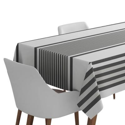Toalha de mesa Ainhoa Réglisse - Jean-Vier