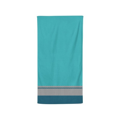Bath towel beaumanoir blue