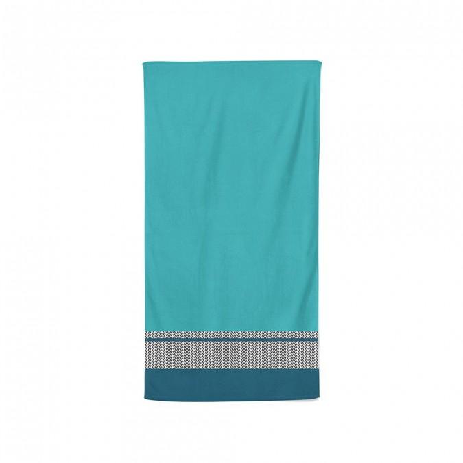 Toalha de banho Beaumanoir azul - Jean-Vier