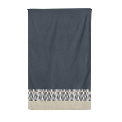 Bath sheet beaumanoir gris - Jean-Vier