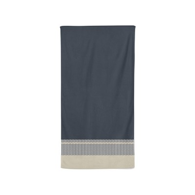 Bath towel beaumanoir gris