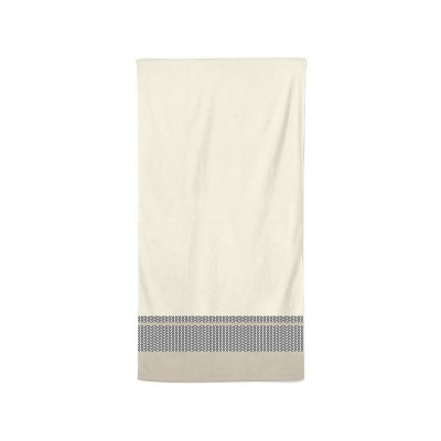 Bath towel Beaumanoir Ivoire