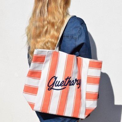 Sac shopping Koka tangerine - Jean-Vier