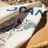 Hand towel Udako Ocean basque - Jean-Vier