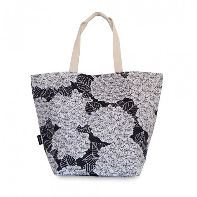 Handtasche Bilbatu hortensias reglisse - Jean-Vier