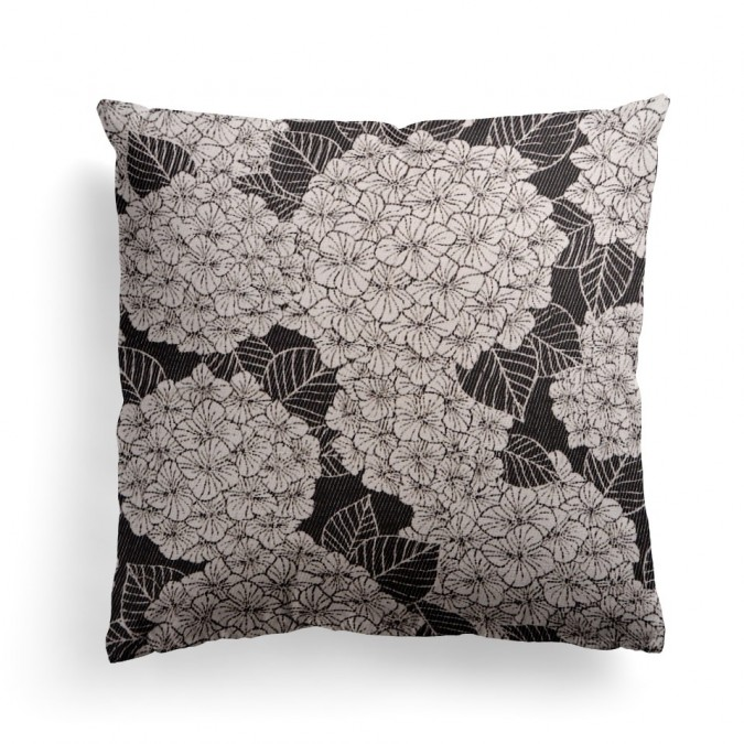 Cushion cover Bilbatu Hydrangeas 40x40