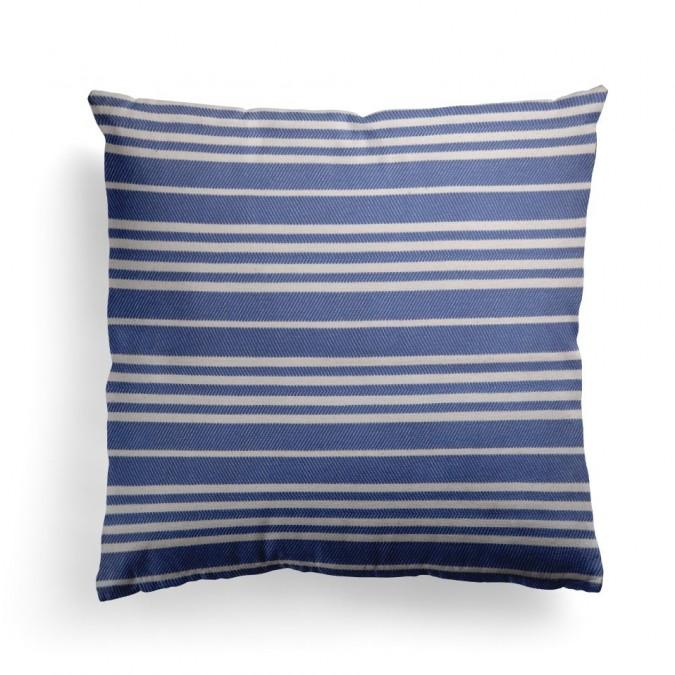 Cushion cover Souraïde Bleu - Jean-Vier