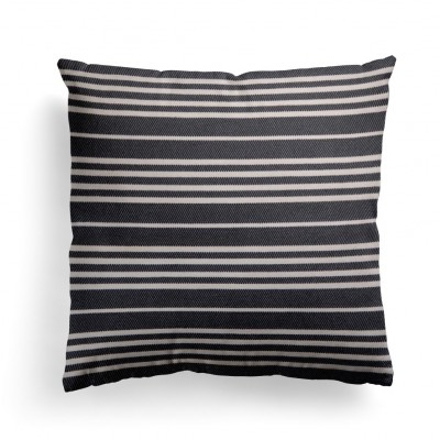 Cushion cover Souraide black 40x40