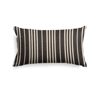 Cushion cover Souraide black 25x45