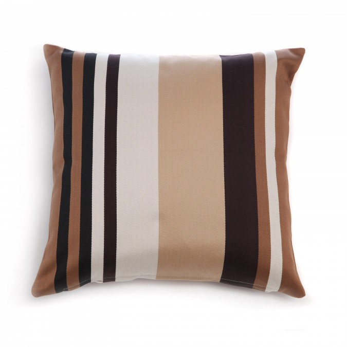 Housse de coussin Pampelune Toffee - Jean-Vier