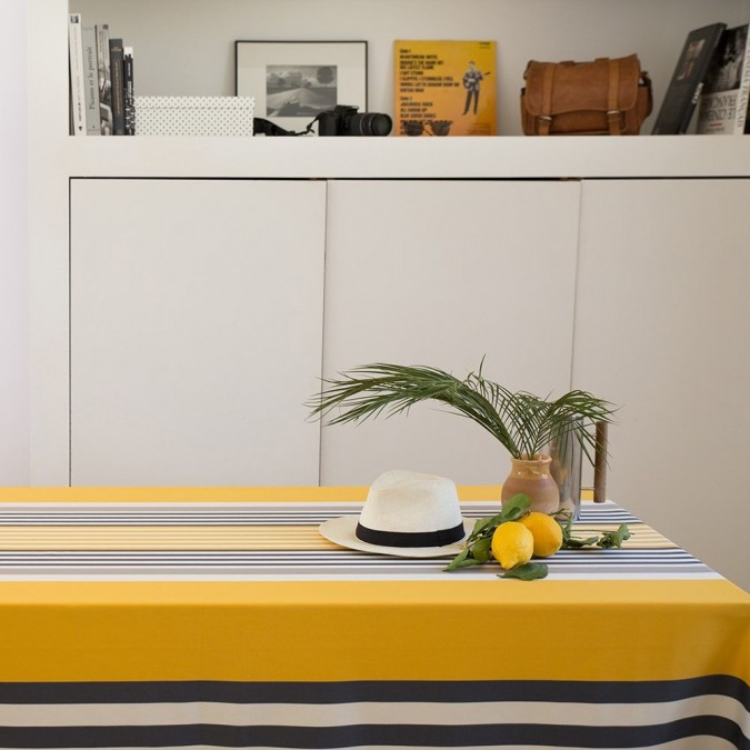 Moderno mantel Ainhoa color oro