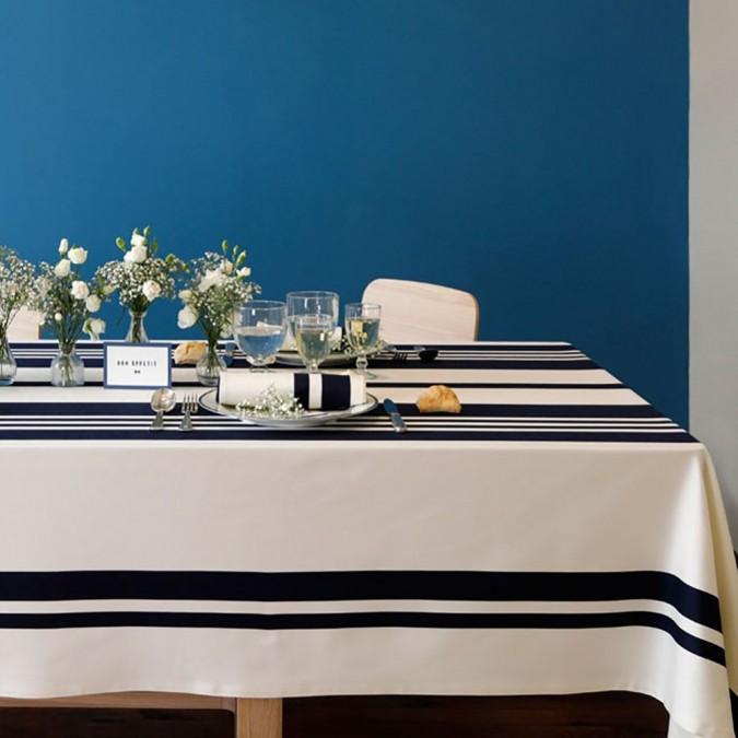 Tablecloth Pampelune Ink very elegant
