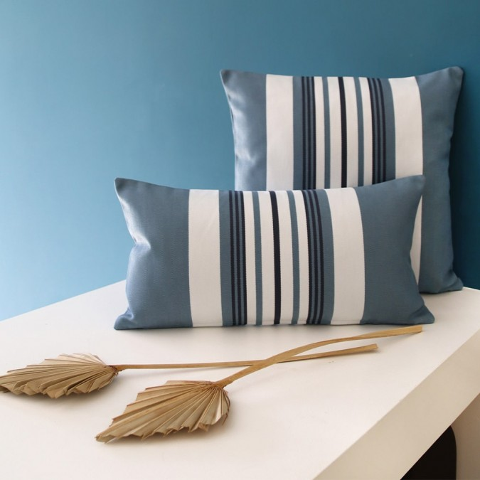 Cushion cover Donibane blue cotton