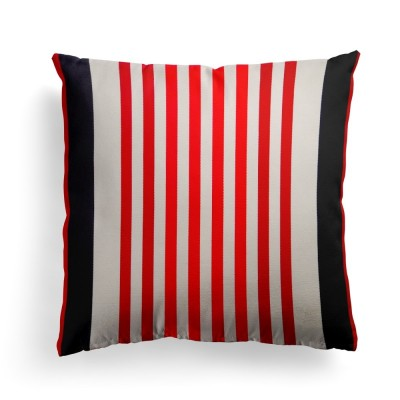 Cushion cover Ainhoa red cotton 40x40