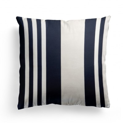 Cushion cover Pampelune Encre - Jean-Vier