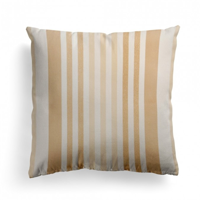 Cushion cover Ainhoa Champagne - Jean-Vier