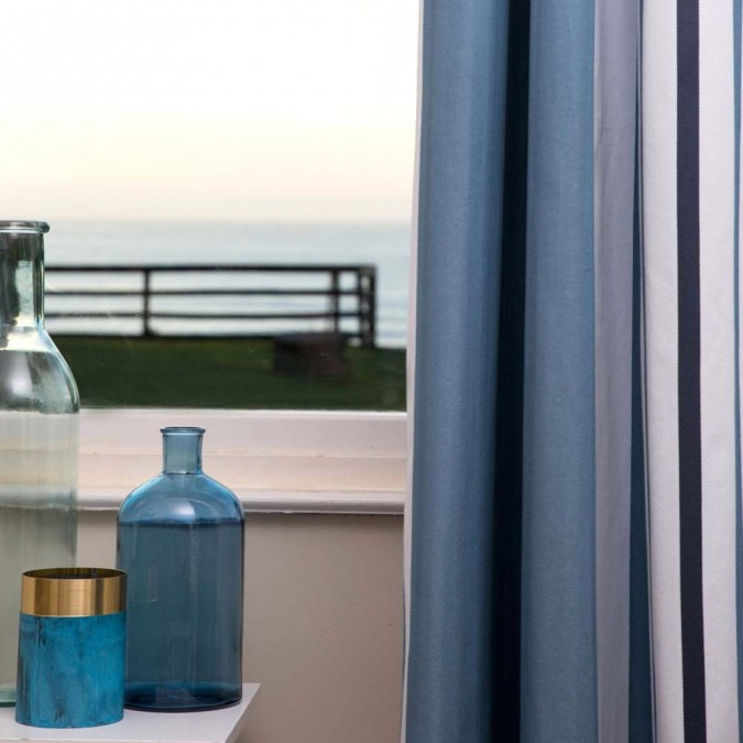 Cortina Donibane Ocean clásica y chic