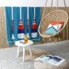 Toalha de praia Paddle Turquoise - Jean-Vier