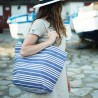 Shopping Bag  Souraïde Bleu - Jean-Vier