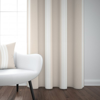 Saint-Jean-De-Luz Curtain linen and cotton