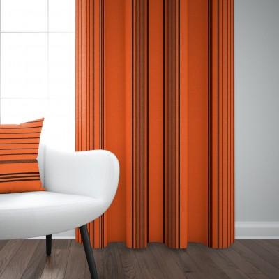 Cotton curtain Berrain Mandarine