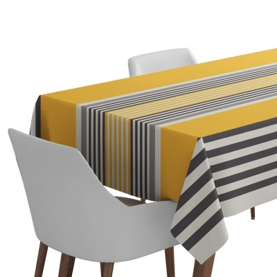 Nappe de table Ainhoa couleur gold