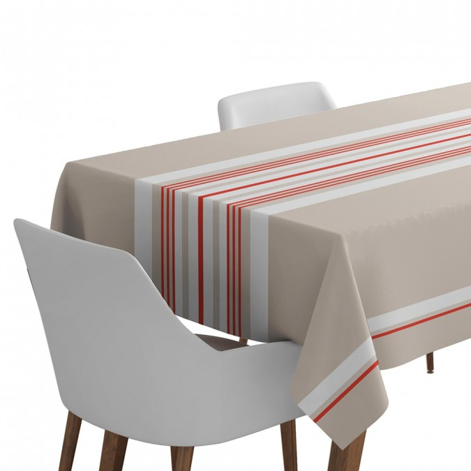 Cotton tablecloth Donibane Strawberry