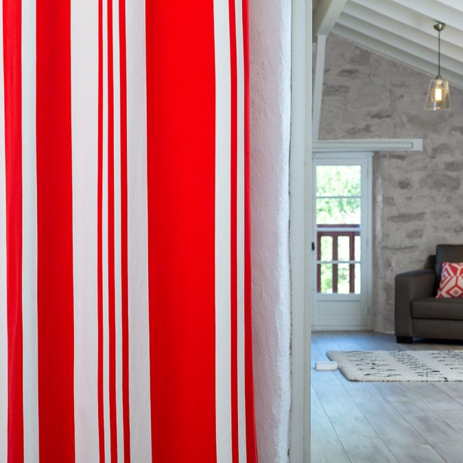 Curtain Pampelune Garance modern and chic