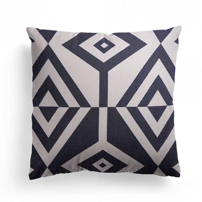 Cushion cover Artez blue 40x40