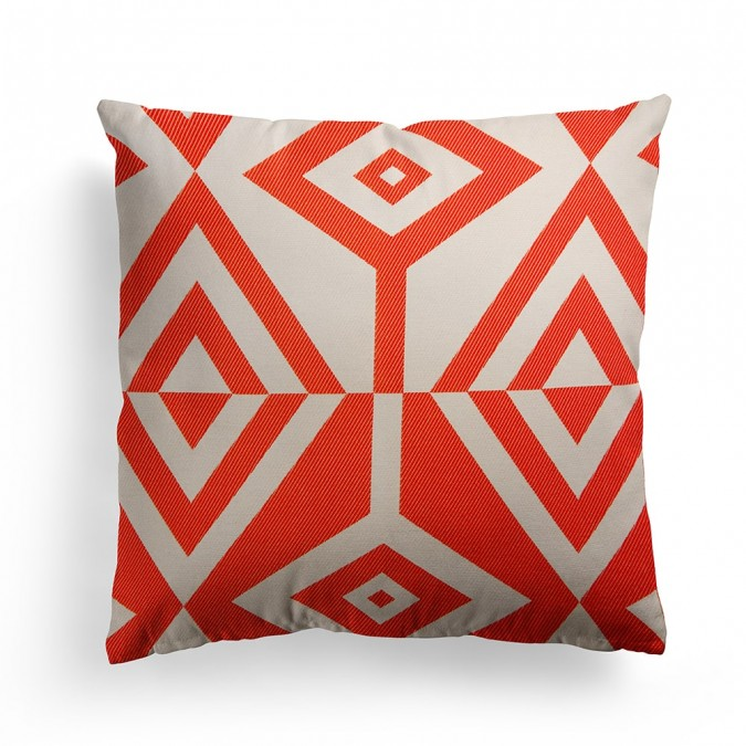 Cushion cover Artez red 40x40