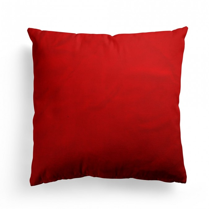 Artez cushion cover in madder color