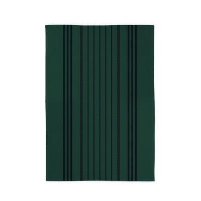 Torchon Raye Marra Vert Foret