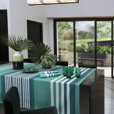 Tablecloth Ainhoa Celadon