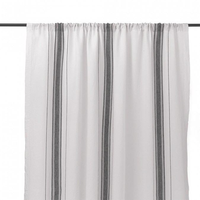 Curtain in linen Beaurivage Ivory