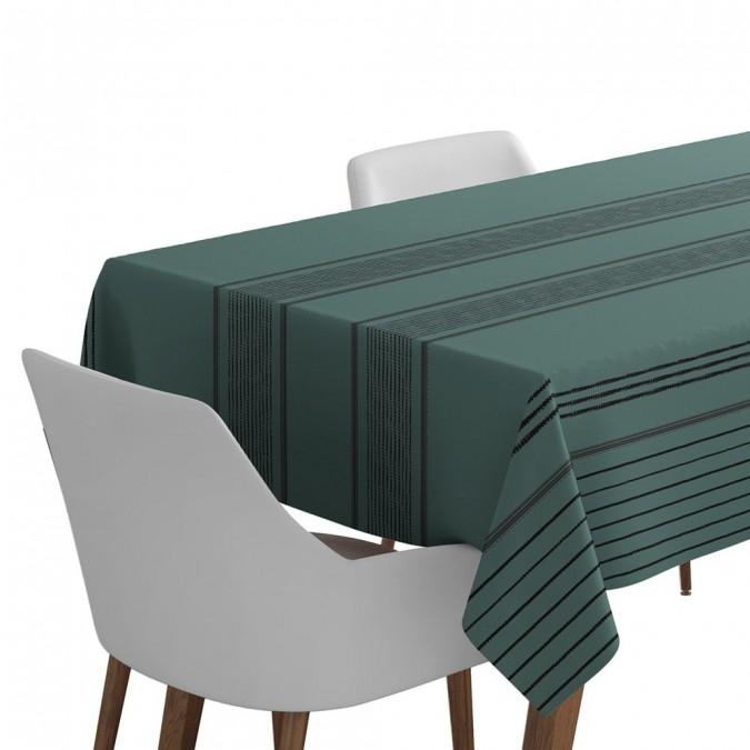 Berrain tablecloth blue color