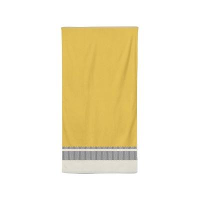Bath towel Beaumanoir Jaune...
