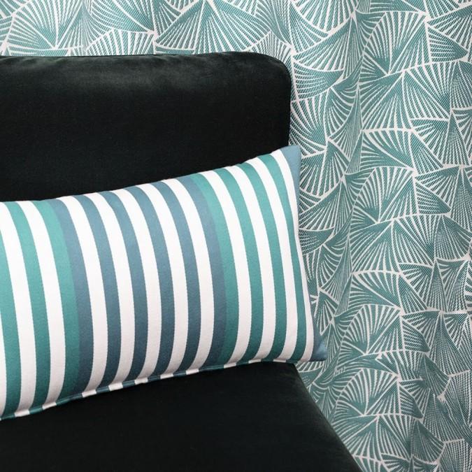 High-end Palma Emerald Curtain