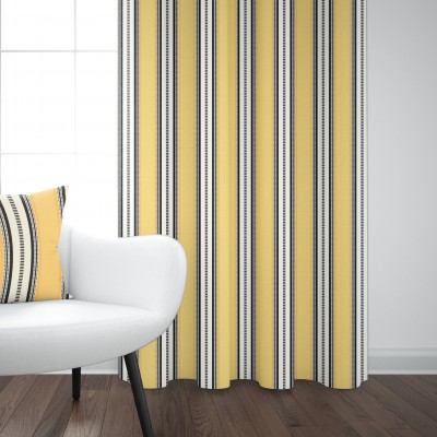 Cotton curtain Barne Gold