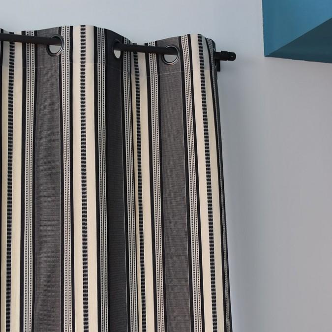 Curtain Barne Ebene Jacquard weave