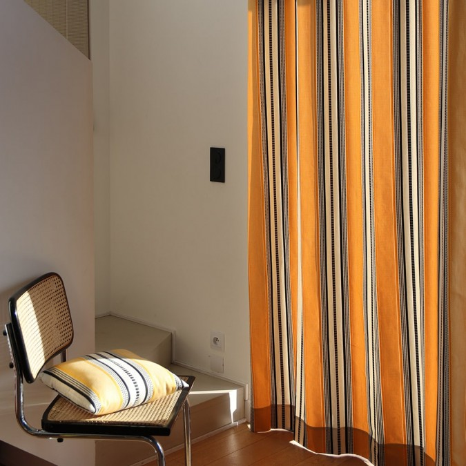 Cotton curtain Barne Gold top-of-the-range