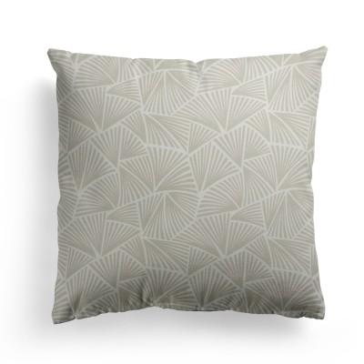 Palma grege cotton cushion cover