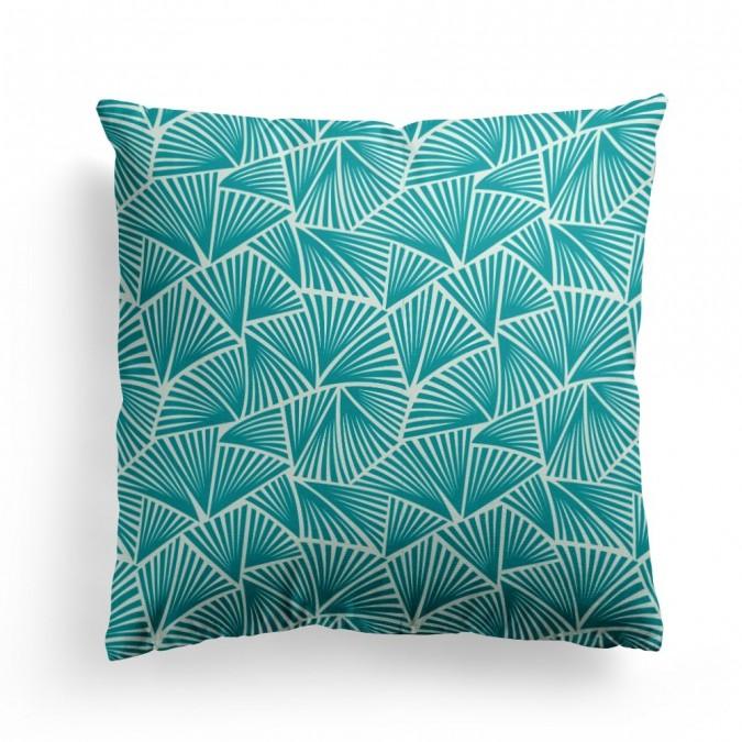 Cushion cover Palma Emerald 40x40