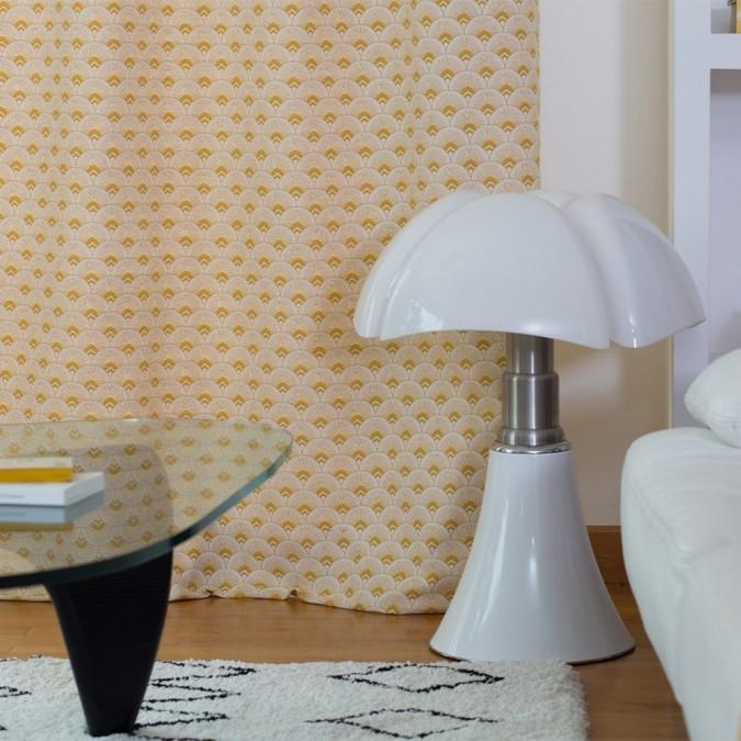 Curtain Bilbatu Ramages yellow color