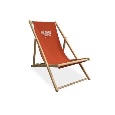 Silla de playa de tela Cote...